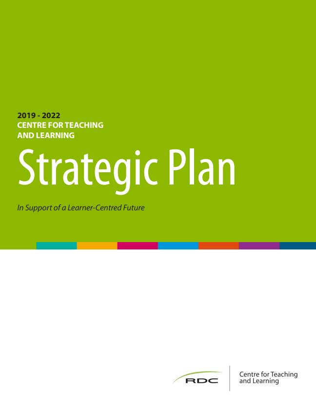 Cover of the CTL Strategic Plan